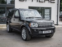 2012 LAND ROVER DISCOVERY 3.0 4 SDV6 HSE 5d AUTO 255 BHP £22995.00
