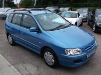 USED 2002 02 MITSUBISHI SPACE STAR 1.6 EQUIPPE 5d 97 BHP P/X TO CLEAR, GREAT VALUE, DRIVES SUPERBLY !!!
