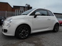 USED 2015 64 FIAT 500 1.2 S 3d 69 BHP 30,000 MILES £30 ROAD TAX