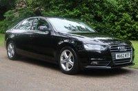 2012 AUDI A4 2.0 TDI SE TECHNIK 4d 134 BHP £8000.00