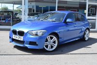 USED 2014 14 BMW 1 SERIES 2.0 116D M SPORT 5d AUTO 114 BHP ***FULL SERVICE HISTORY***