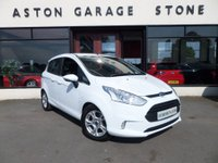 USED 2013 63 FORD B-MAX 1.6 ZETEC AUTO **WHEELCHAIR HOIST * 1 OWNER** ** ONE OWNER * F/S/H * DAB **