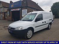 2009 VAUXHALL COMBO 2000 1.3 CDTi Direct From BT With History £3395.00