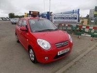 2009 KIA PICANTO 1.1 RED 5d 64 BHP £3695.00