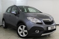 USED 2014 14 VAUXHALL MOKKA 1.6 EXCLUSIV S/S 5DR 113 BHP FULL SERVICE HISTORY + BLUETOOTH + PARKING SENSOR + CRUISE CONTROL + MULTI FUNCTION WHEEL + CLIMATE CONTROL + 18 INCH ALLOY WHEELS