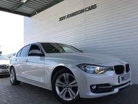 2013 BMW 3 SERIES 1.6 316I SPORT 4d 135 BHP £10995.00