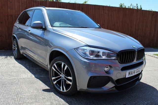 2014 BMW X5 3.0 XDRIVE30D M SPORT 5d AUTO 255 BHP