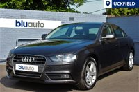 USED 2012 12 AUDI A4 2.0 TDI QUATTRO SE TECHNIK 4d 174 BHP Full Audi History, Sat Nav, Leather, Heated Seats