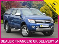 USED 2016 16 FORD RANGER 2.2 TDCI LIMITED DOUBLE CAB HARDTOP CANOPY HARDTOP CANOPY LEATHER BLUETOOTH PARKING SENSORS