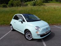 2014 FIAT 500 0.9 TWINAIR LOUNGE 3d 85 BHP £6290.00