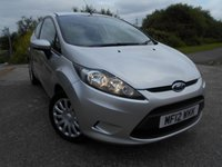 USED 2012 12 FORD FIESTA 1.4 EDGE 3d AUTO 96 BHP **LOW MILEAGE**AUTOMATIC**SUPERB CONDITION**