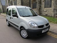 USED 2008 08 RENAULT KANGOO 1.1 AUTHENTIQUE 16V 5d 75 BHP WHEELCHAIR ACCESS WITH WINCH