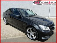 "USED 2012 MERCEDES-BENZ C CLASS 2.1 C220 CDI BLUEEFFICIENCY SE 4dr 168 BHP 19""ALLOYS & P/GLASS LOCAL OWNER VEHICLE IN EXCELLENT CONDITION"