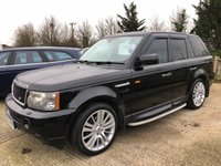 2005 LAND ROVER RANGE ROVER SPORT 2.7 TDV6 HSE 5d AUTO 188 BHP £SOLD