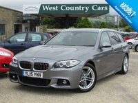 USED 2015 15 BMW 5 SERIES 2.0 520D M SPORT TOURING 5d AUTO 188 BHP Low Running Costs With Lots Of Practicality.