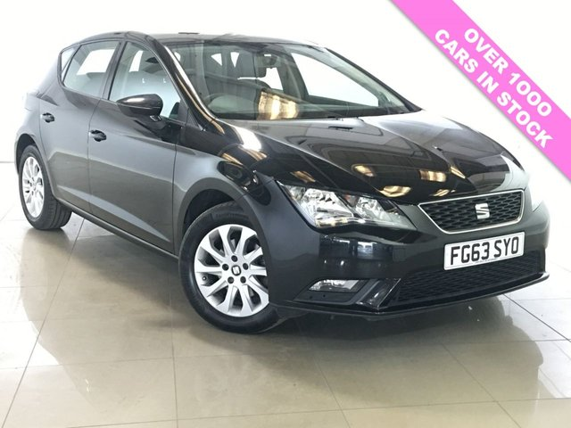 View our 2013 63 SEAT LEON 1.6 TDI SE 5d 105 BHP