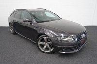 2012 AUDI A4 2.0 AVANT TDI S LINE BLACK EDITION 5d 168 BHP £SOLD