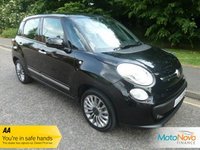 "USED 2015 65 FIAT 500L 1.4 LOUNGE 5d 95 BHP Fantastic Low Mileage Lady Owned Fiat 500L Lounge Edition with Glass Panoramic Roof, Climate Contol, Cruise Control, 16"" Alloy Wheels and Service History"