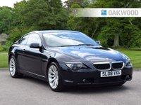 USED 2008 08 BMW 6 SERIES 3.0 630I SPORT 2d AUTO 255 BHP