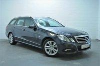 2010 MERCEDES-BENZ E CLASS 3.0 E350 CDI BLUEEFFICIENCY AVANTGARDE 5d AUTO 231 BHP £7995.00