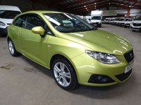 2009 SEAT IBIZA 1.4 SPORT 3d 85 BHP WITH AIR CONDITIONING £3295.00