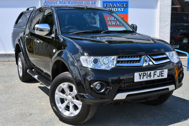 2014 14 MITSUBISHI L200 2.5 DI-D 4X4 WARRIOR LB Double Cab Manual Pickup