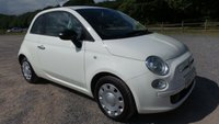 USED 2010 60 FIAT 500 1.2 POP 3d 69 BHP CHOICE OF 5, WHITE, AIR-CONDITIONING, ELECTRIC WINDOWS, REMOTE LOCKING, ELECTRIC MIRRORS, 2 X KEYS, WHITE, CD-PLAYER, £30 A YEAR TAX, IDEAL 1ST CAR