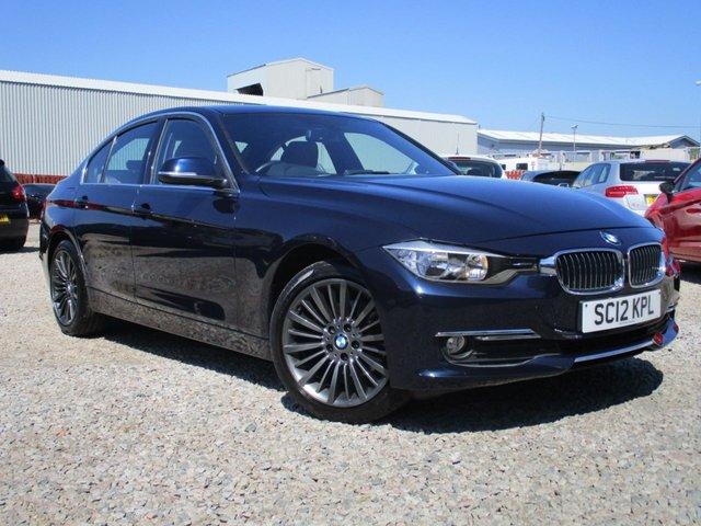 2012 12 BMW 3 SERIES 2.0 320D LUXURY 4d AUTO 184 BHP
