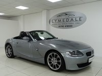 USED 2006 56 BMW Z4 2.0 Z4 SPORT ROADSTER 2d 148 BHP FULL SERVICE HISTORY, LEATHER, MOT APRIL 2019