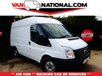 2013 FORD TRANSIT 2.2 280 100 BHP SWB MEDIUM ROOF (ONE OWNER AIR CONDITIONING) £7250.00
