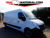 2015 RENAULT MASTER 2.3 LM35 BUSINESS DCI S/R P/V 125 BHP (ONE OWNER READY TO GO) £11490.00