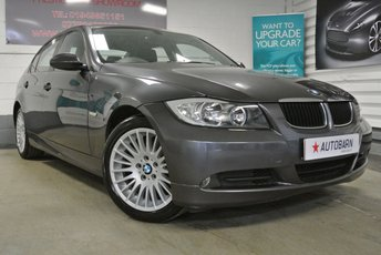 2007 BMW 3 SERIES 2.0 318D SE 4d 121 BHP £3390.00