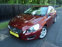 USED 2010 60 VOLVO S60 2.0 D3 SE LUX 4d 161 BHP