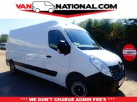 2015 RENAULT MASTER 2.3 LM35 BUSINESS DCI S/R P/V 125 BHP (ONE OWNER READY TO GO) £10949.00