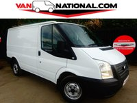 2013 FORD TRANSIT 2.2 260 SWB LOW ROOF 100BHP (FULL SERVICE HISTORY) £6990.00