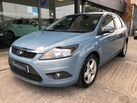 USED 2009 58 FORD FOCUS 1.6 ZETEC 5d AUTO 100 BHP Low mileage, Full service history, fantastic condition