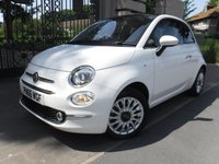 USED 2016 66 FIAT 500 1.2 LOUNGE 3d 69 BHP *** FINANCE & PART EXCHANGE WELCOME *** £ 20 ROAD TAX AIR/CON PANORAMIC ROOF BLUETOOTH PHONE