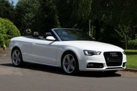 USED 2013 63 AUDI A5 2.0 TFSI S LINE SPECIAL EDITION 2d 222 BHP