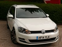 2014 VOLKSWAGEN GOLF 2.0 GT TDI BLUEMOTION TECHNOLOGY 5d 148 BHP £7690.00