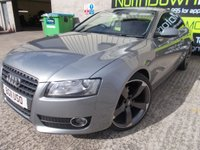 USED 2011 11 AUDI A5 2.0 TDI QUATTRO SE 2d 168 BHP Stunning Looking Coupe, Low Mileage, Full Leather, Upgraded Audi Alloys, No Deposit Necessary