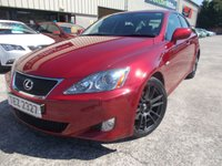 2008 LEXUS IS 2.5 250 SPORT 4d 204 BHP £4995.00