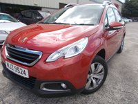 USED 2015 PEUGEOT 2008 1.2 ACTIVE 5d 82 BHP Excellent Condition, FSH, Low Rate Finance Available, No Deposit Necessary