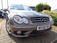 2008 MERCEDES-BENZ CLK 2.1 CLK220 CDI SPORT 2d AUTO 148 BHP £4289.00