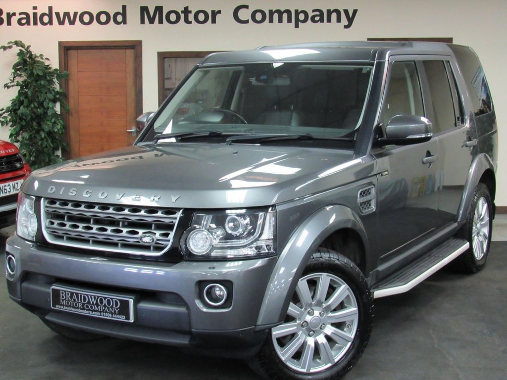 7b20674d98240c USED 2014 14 LAND ROVER DISCOVERY 3.0 SDV6 COMMERCIAL XS 1d AUTO 255 BHP ...