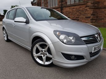 "2008 VAUXHALL ASTRA 1.8 SRI XP 5d 138 BHP [EXTERIOR PACK 18"" ALLOYS] £2495.00"