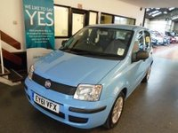USED 2011 61 FIAT PANDA 1.2 MYLIFE 5d 69 BHP Fitted with air conditioning which was a £500 extra & £30 tax per year makes this New shape 5 door Panda an ideal car economical family motoring...Finished in Metallic Blue, nothing requires body shop attention, not been smoked in. Will average around 50 MPG,  2 Keys/ABS Power steering & Air conditioning This Panda is excellent throughout. Its been serviced with receipts. It will be supplied with 6 months warranty (which can be extended) & 12 months MOT free of advisory notice. £30 tax per year