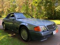 1990 MERCEDES-BENZ SL 5.0 500 SL-32 2d AUTO 322 BHP £12995.00