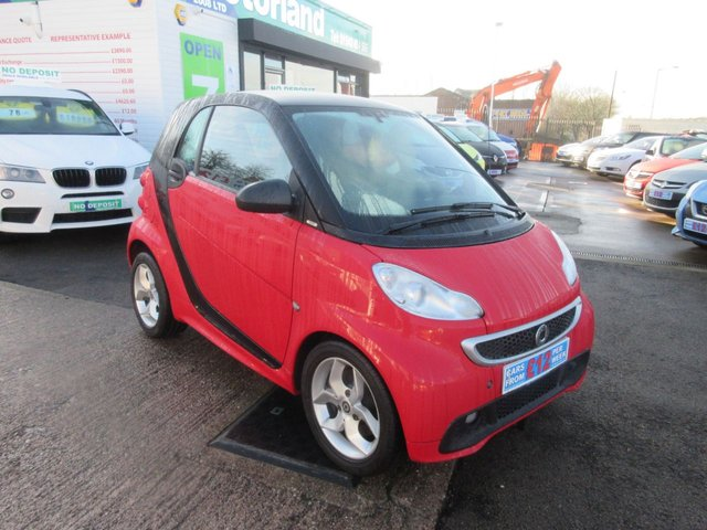 USED 2014 14 SMART FORTWO 1.0 PULSE MHD 2d AUTO 71 BHP TEST DRIVE TODAY....CALL 01543 877320 TODAY.....£0 ROAD TAX.....£0 DEPOSIT FINANCE AVAILABLE