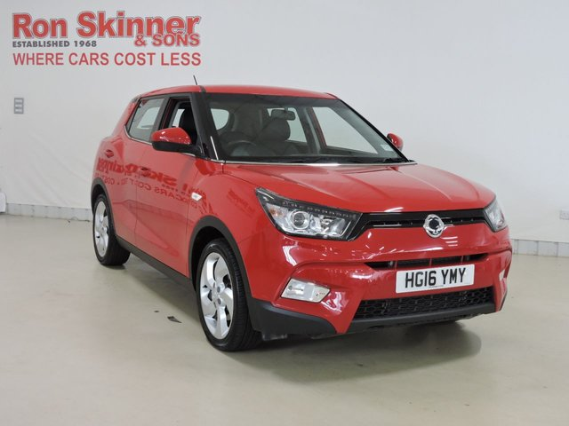 View our 2016 16 SSANGYONG TIVOLI 1.6 EX 5d 126 BHP