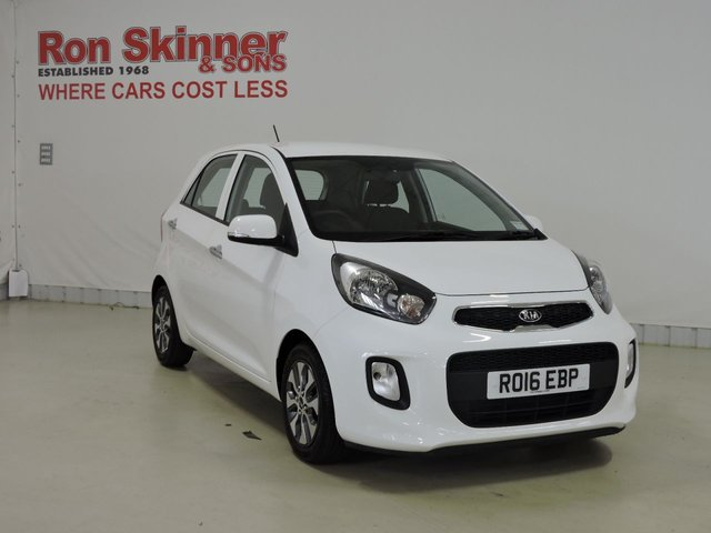 View our 2016 16 KIA PICANTO 1.2 2 ISG 5d 84 BHP